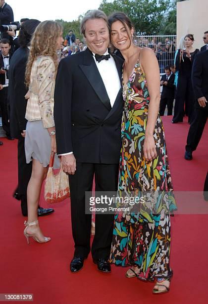 Patrick Bouchitey and guest during 2005 Cannes Film Festival Peindre Ou Faire L'Amour Premiere at Le Palais de Festival in Cannes France