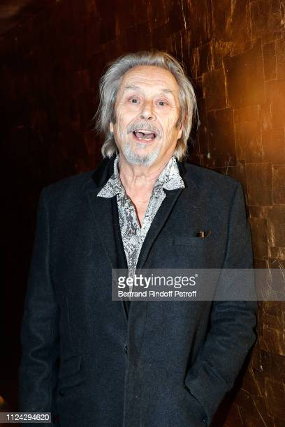 Patrick Bouchitey attends the Arielle Dombasle and Nicolas Ker concert at Silencio on January 23 2019 in Paris France