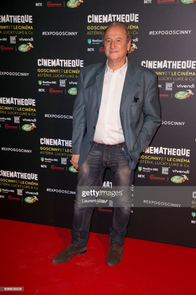 Goscinny Et Le le Cinema - Asterix Lucky Luke Et Cie  : Photocall At La Cinematheque In Paris