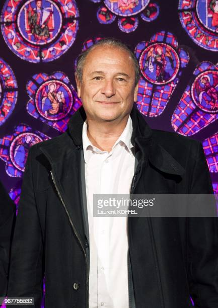 Patrick Braoude attends Sister Act The Musical Gala Premiere at Theatre Mogador on September 20 2012 in Paris France