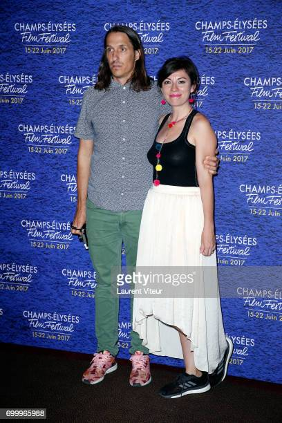 Patrick Bresnan and Ivete Lucas attend Closing Ceremony of 6th Champs Elysees Film Festival on June 22 2017 in Paris France