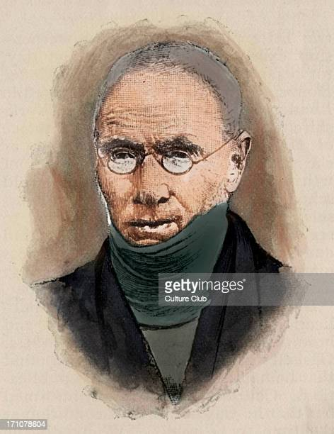 Patrick Bronte - Irish Anglican curate and writer: 17 March 1777 - 7 June 1861. Colourised version.