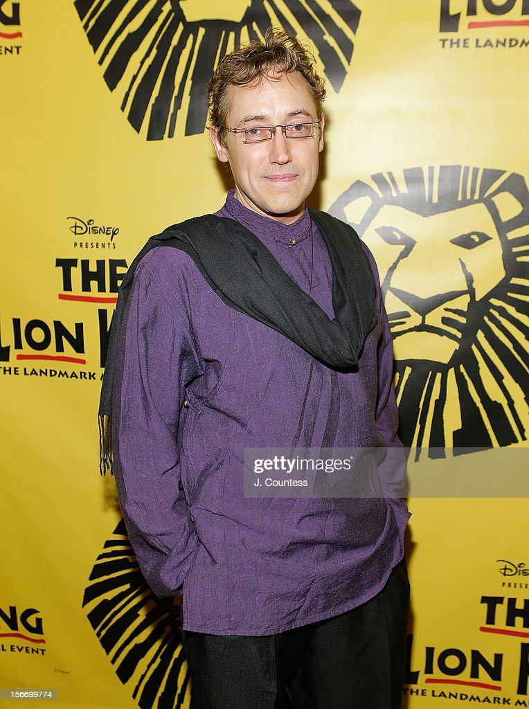 Patrick Brown attends the afterparty for 'The Lion King' Broadway 15th Anniversary Celebration at Minskoff Theatre on November 18, 2012 in New York City.