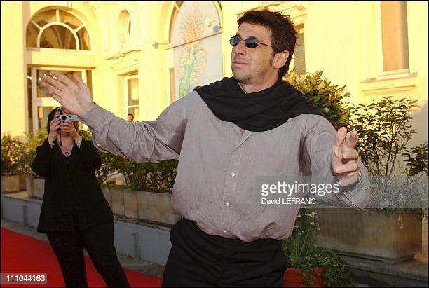 Patrick Bruel at Cabourg Romantic Film Festival in France on June 12 2004