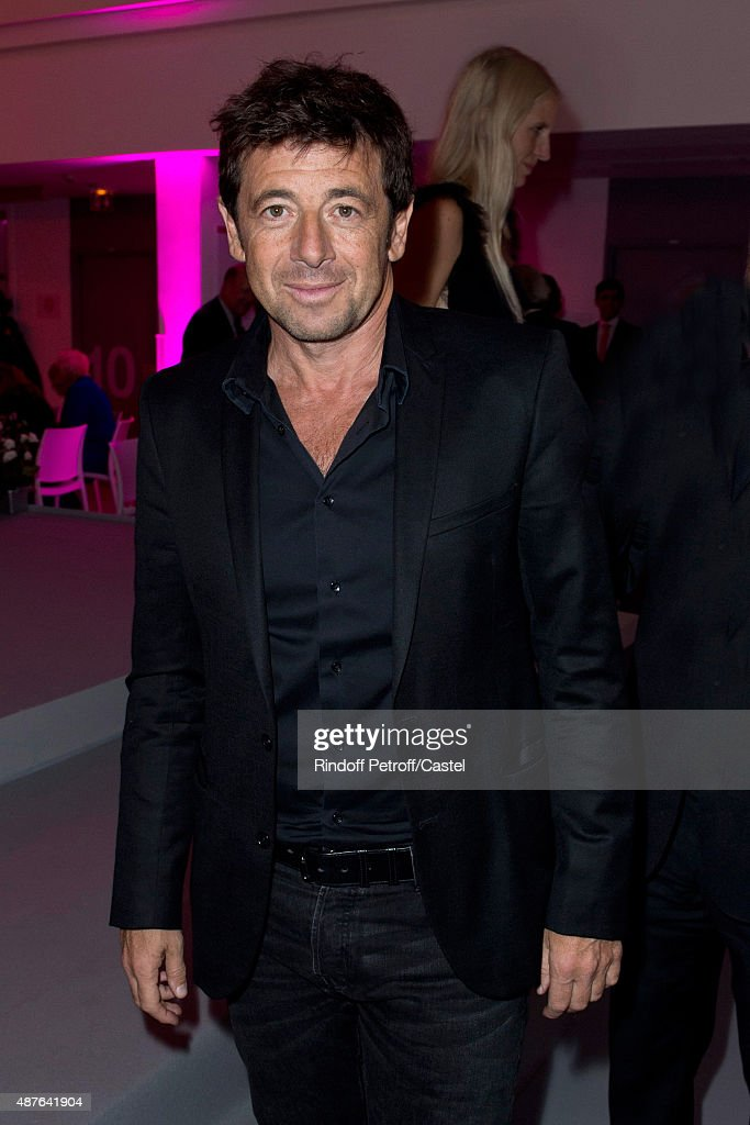 Patrick Bruel attends the Auction Dinner to Benefit 'Institiut Imagine' on September 10, 2015 in Paris, France.