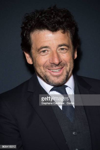 Patrick Bruel attends the 'Cesar Revelations 2018' Party at Le Petit Palais on January 15 2018 in Paris France