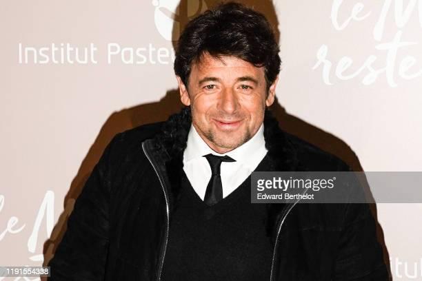 Patrick Bruel attends the Le Meilleur Reste A Venir Premiere At Le Grand Rex on December 02 2019 in Paris France