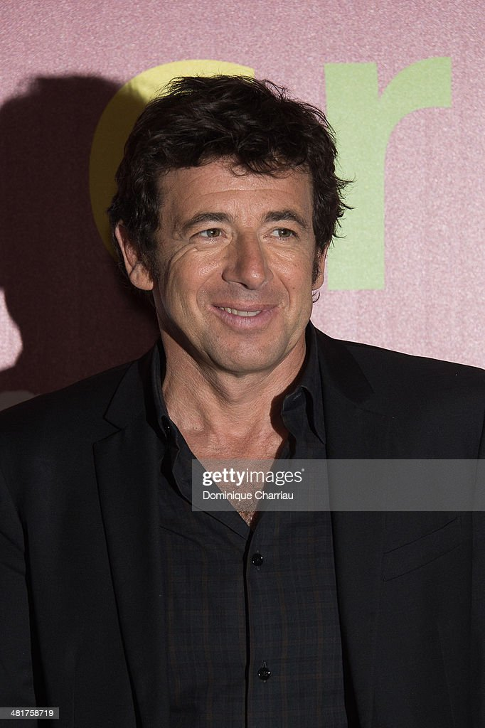 Patrick Bruel attends the 'Les Yeux Jaunes Des Crocodiles' Paris Premiere at Cinema Gaumont Marignan on March 31, 2014 in Paris, France.