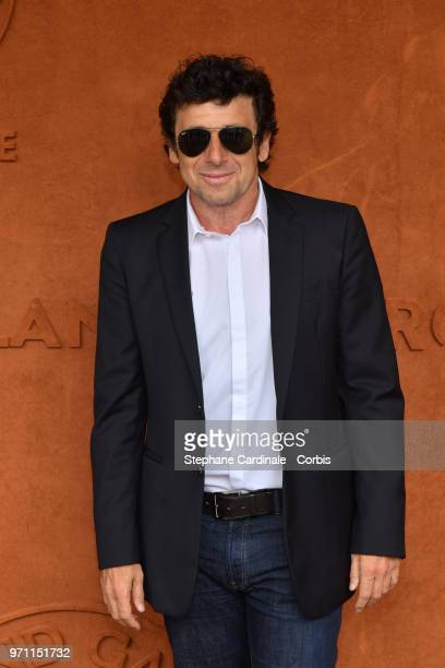 Patrick Bruel attends the Men Final of the 2018 French Open Day Fithteen at Roland Garros on June 10 2018 in Paris France