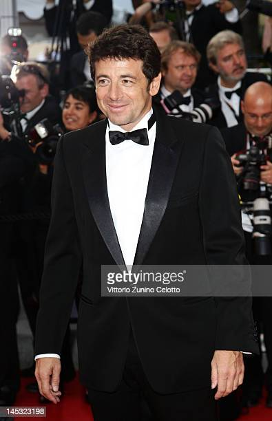 Patrick Bruel attends the 'Mud' Premiere during the 65th Annual Cannes Film Festival at the Palais des Festivals on May 26 2012 in Cannes France