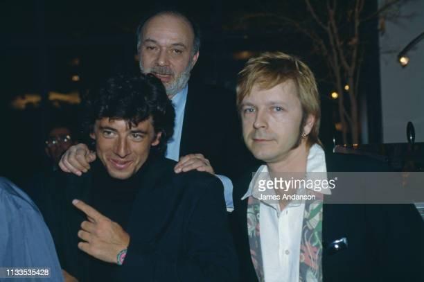Patrick Bruel Claude Berri and Renaud