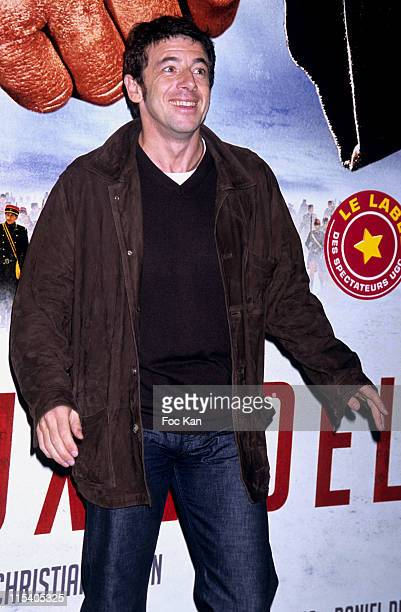 Patrick Bruel during 'Joyeux Noel' Paris Premiere Photocall at Cinema UGC Normandie in Paris France