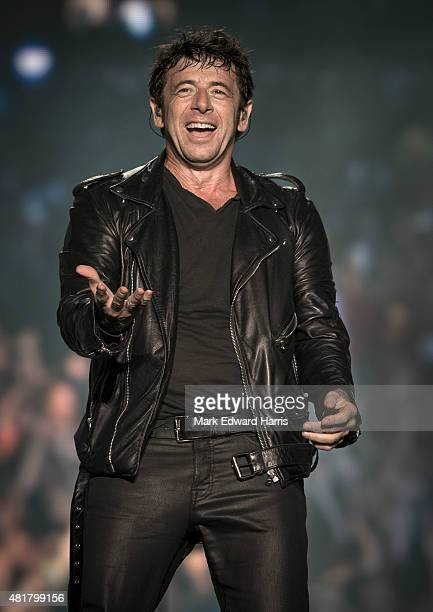 Patrick Bruel is photographed at the Quebec Music Festival in Quebec City for Self Assignment on July 16 2015