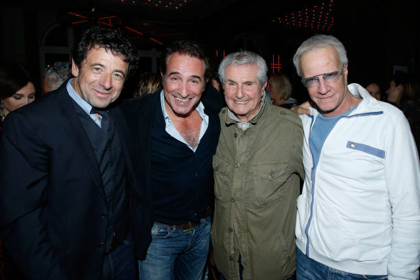 Photos et images de claude lelouch celebrates his 80th for Dujardin patrick