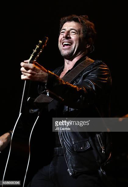 Patrick Bruel performs on November 8 2014 in Los Angeles California