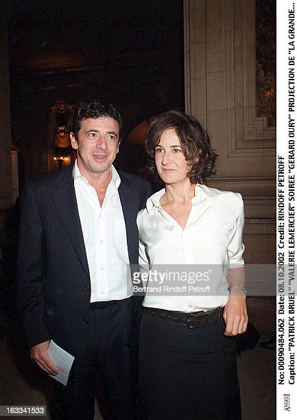 Patrick Bruel 'Valerie Lemercier' 'Gerard Oury' film screening of 'La Grande Vadrouille' at the Garnier opera