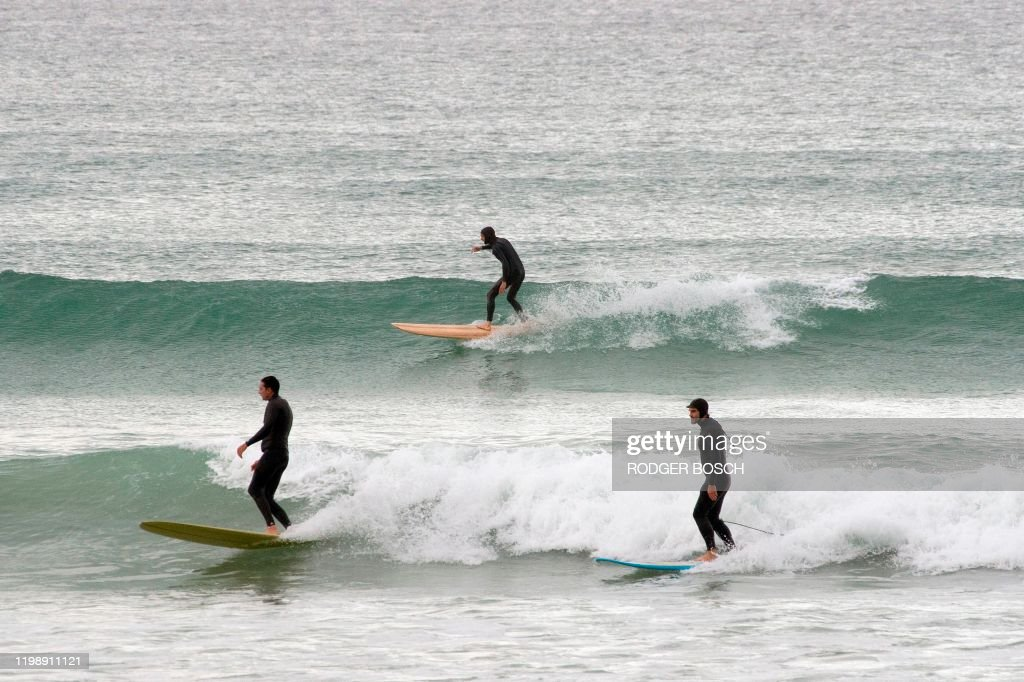 SAFRICA-SURF-ENVIRONMENT : News Photo