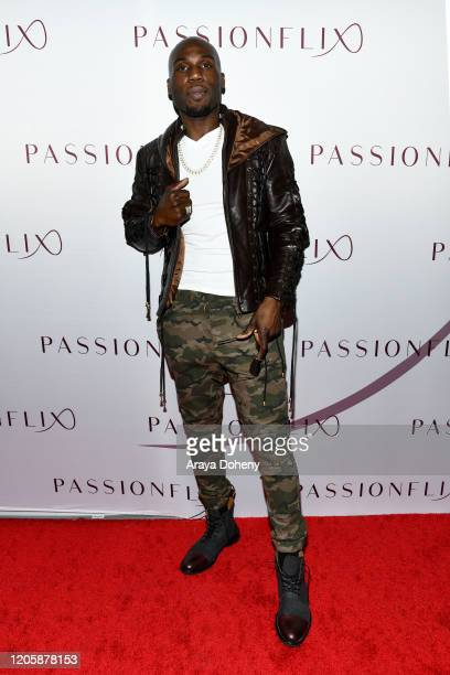 Patrick Byas attends Passionflix's The Will Los Angeles Premiere on February 12 2020 in Culver City California