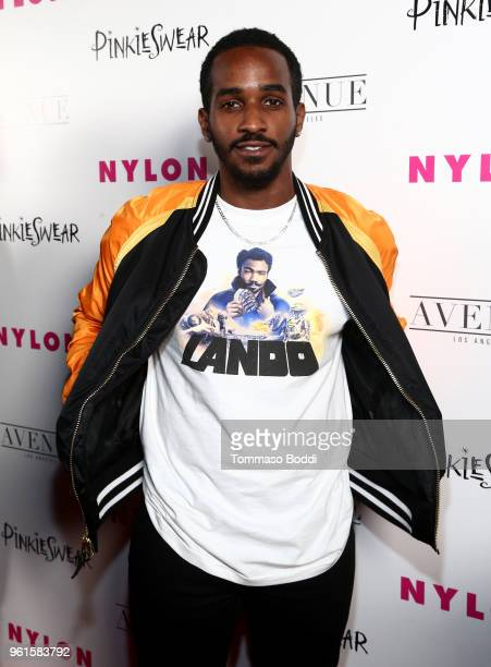 Patrick Cage attends NYLON's Annual Young Hollywood Party sponsored by Pinkie Swear at Avenue Los Angeles on May 22 2018 in Hollywood California