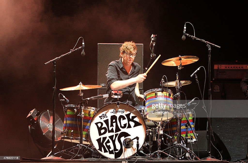 Patrick Carney of The Black Keys performs during the 2015 Governors Ball Music Festival at Randall's Island on June 7, 2015 in New York City.