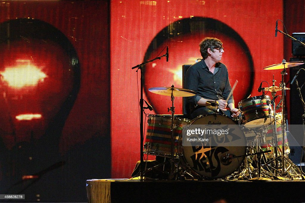 Patrick Carney of The Black Keys performs onstage during 'The Concert For Valor' at The National Mall on November 11, 2014 in Washington, DC.
