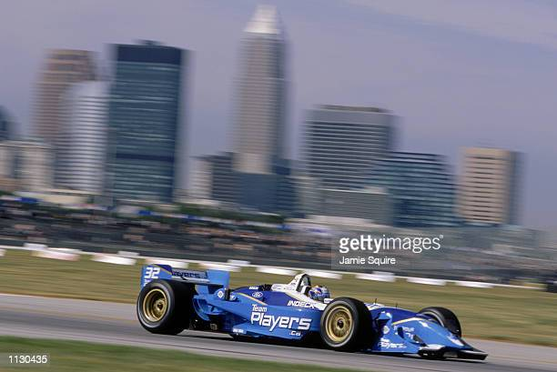 Patrick Carpentier drives his Players Forsythe Ford Reynard during the Marconi Grand Prix of Cleveland round 9 of the CART FedEx Championship Series...