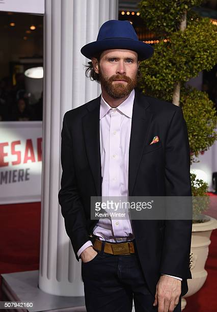 Patrick Carroll attends Universal Pictures' Hail Caesar premiere at Regency Village Theatre on February 1 2016 in Westwood California