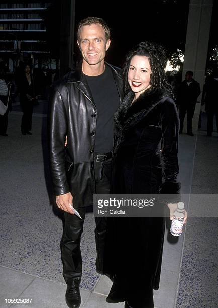 """Patrick Cassidy and Melissa Hurley during Opening Night of """"Chicago"""" - May 6, 1998 at Ahmanson Theater in Los Angeles, California, United States."""