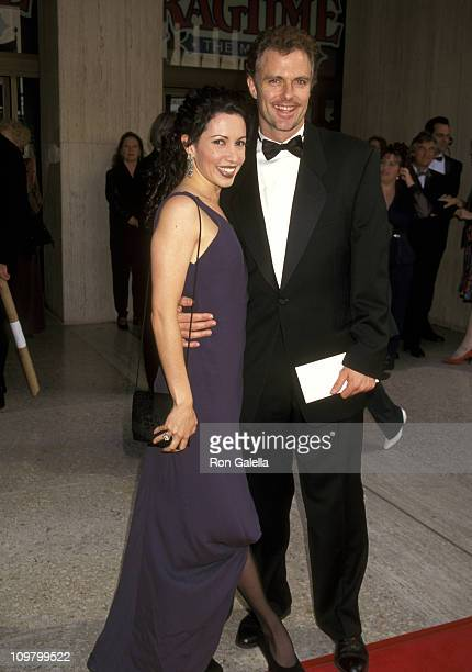 """Patrick Cassidy and Melissa Hurley during Opening Night of """"Ragtime"""" at Shubert Theatre in Century City, California, United States."""