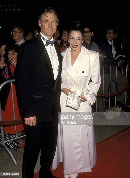 """Patrick Cassidy and Melissa Hurley during Opening Night of """"Sunset Boulevard"""" at Suburt Theater in Century City, CA, United States."""