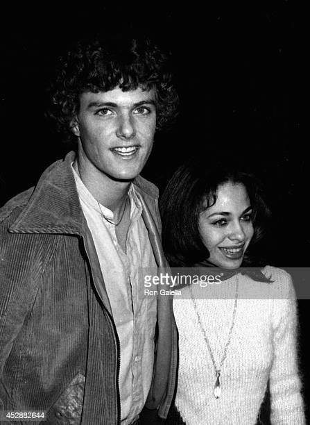 Patrick Cassidy and Tanya Brown attend the screening of 'Angel Dusted' on February 13 1981 at the Director's Guild Theater in Hollywood California