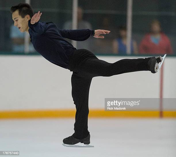 THORNHILL ON AUGUST 18 Patrick Chan closes Skate Canada Summer Skate event in Thornhill August 18 2013 The event was held at the Thornhill Community...