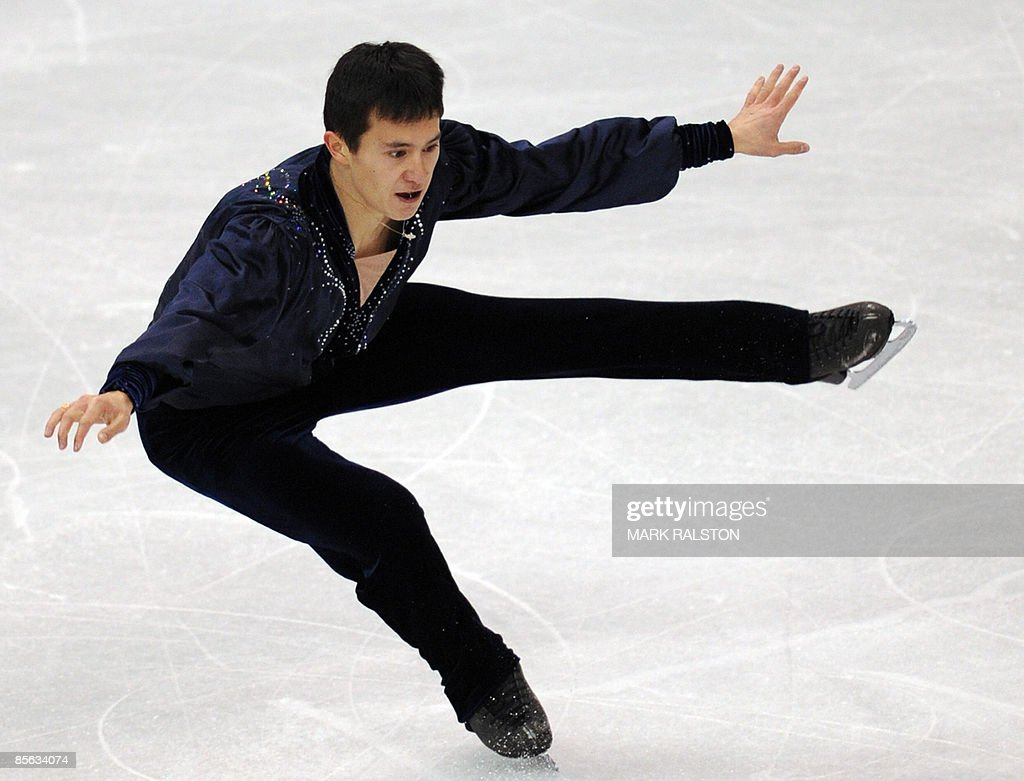 Patrick Chan from Canada performs during : News Photo