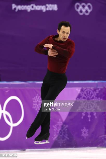 Patrick Chan of Canada competes during the Men's Single Free Program on day eight of the PyeongChang 2018 Winter Olympic Games at Gangneung Ice Arena...