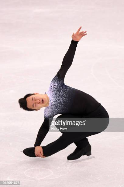 Patrick Chan of Canada competes in the Figure Skating Team Event Men's Single Skating Short Program during the PyeongChang 2018 Winter Olympic Games...