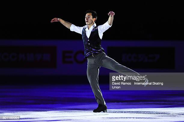 Patrick Chan of Canada performs at an exhibiton gala on day 4 of the ISU Junior Senior Grand Prix of Figure Skating Final 2015/2016 at the Barcelona...