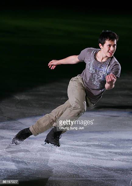 Patrick Chan of Canada performs during Festa on Ice 2009 at KINTEX on April 24 2009 in Goyang South Korea