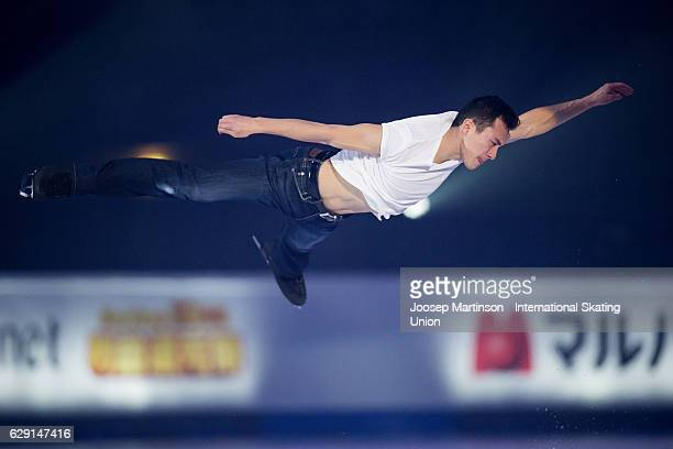 Patrick Chan of Canada performs during Gala Exhibition on day four of the ISU Junior and Senior Grand Prix of Figure Skating Final at Palais...