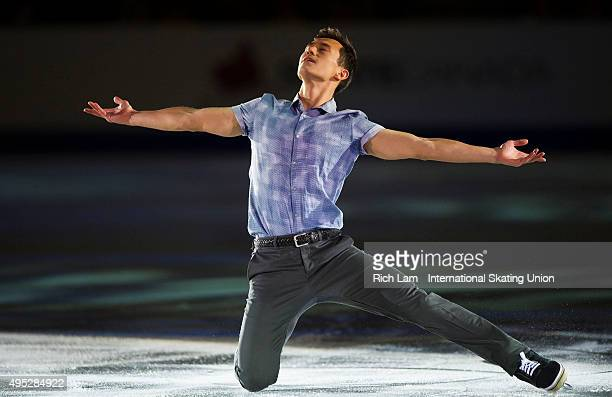 Patrick Chan of Canada performs during the Exhibition Gala on day three of Skate Canada International ISU Grand Prix of Figure Skating November 2015...