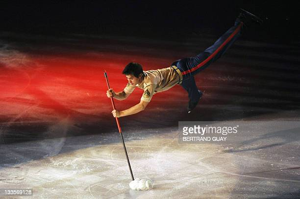Patrick Chan of Canada performs during the Ladies exhibition gala of the Eric Bompard 2011 figure skating trophy on November 19 2011 at the Bercy...