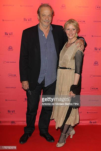 Patrick Chesnais and Florence Thomassin attend the '12 Ans D'Age' Premiere As Part of The Champs Elysees Film Festival 2013 at UGC George V on June...