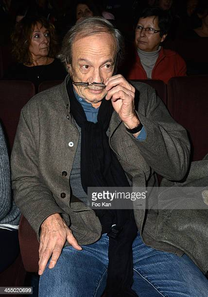 Patrick Chesnais from 'Ferdinand' Anti Alcohol Association attends the 'Ivresse' Guillaume Canet's Short Movie Against Alcohol Premiere hosted by...