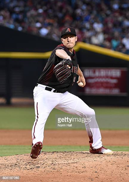Patrick Corbin of the Arizona Diamondbacks delivers a pitch against the San Francisco Giants at Chase Field on September 10 2016 in Phoenix Arizona