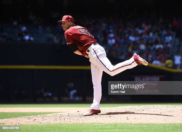 Patrick Corbin of the Arizona Diamondbacks delivers a pitch against the New York Mets at Chase Field on May 17 2017 in Phoenix Arizona