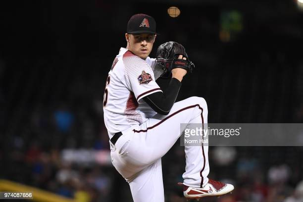 Patrick Corbin of the Arizona Diamondbacks delivers a pitch against the Pittsburgh Pirates at Chase Field on June 11 2018 in Phoenix Arizona