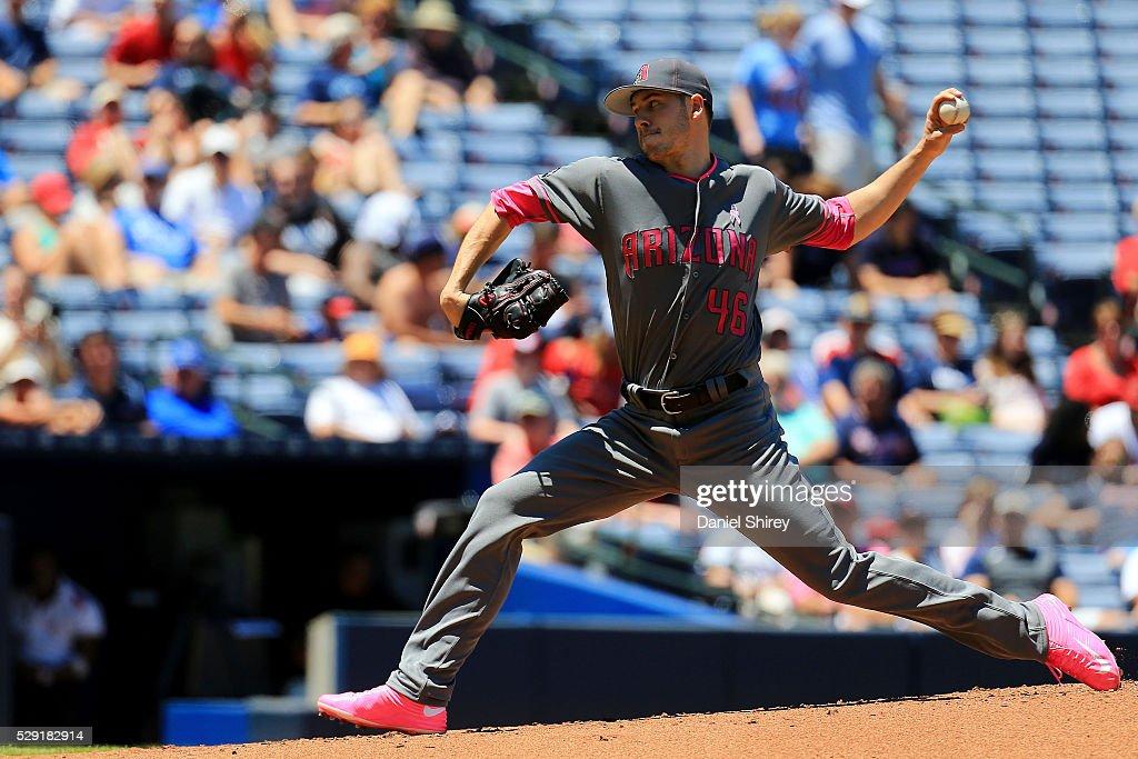 Arizona Diamondbacks v Atlanta Braves : Nachrichtenfoto