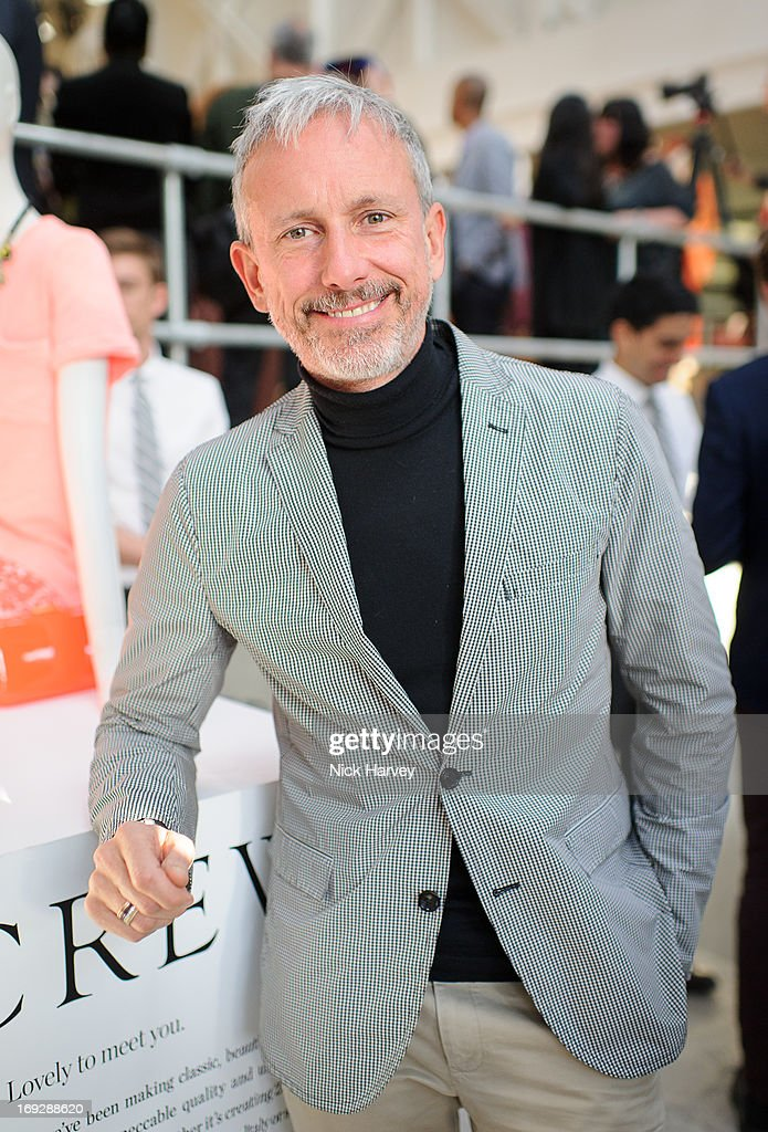 Patrick Cox attends private event to celebrate J.Crew And Central Saint Martins partnership at J.Crew on May 22, 2013 in London, England.