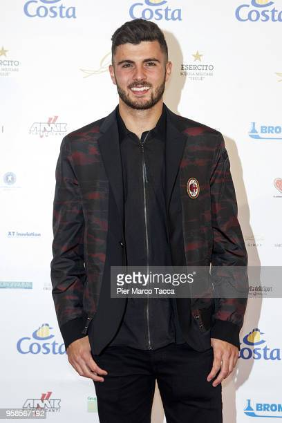 Patrick Cutrone attends the Gentleman Prize on May 14 2018 in Milan Italy