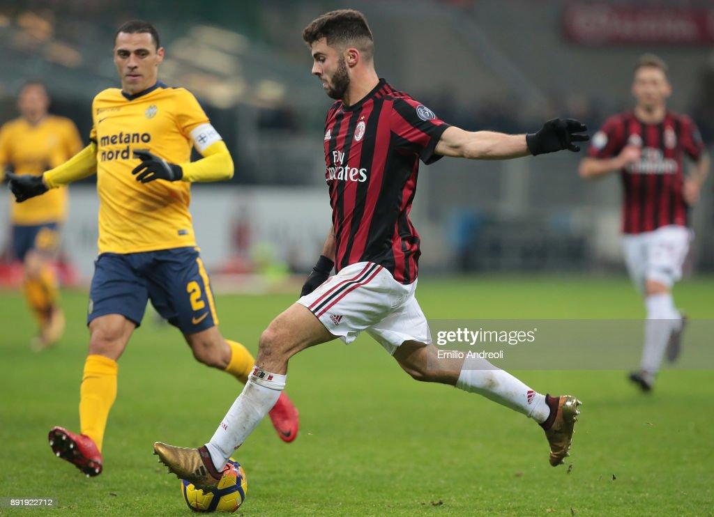 AC Milan v Hellas Verona FC - Tim Cup : News Photo