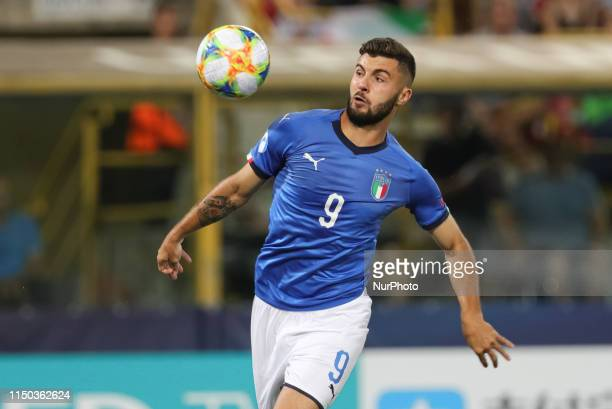 Patrick Cutrone of Italy U21 during the UEFA UNDER21 Championship match between Italy and Spain at Renato Dall'Ara Stadium on June 16 2019 in Bologna...